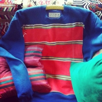 Colour Block Sweatshirt Cobalt Blue | Sassy J