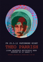 Patchwork NIGHT with THEO PARRISH Poster | Sassy J