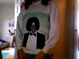 Michael Jackson Sweatshirt / J loves MJ | Sassy J