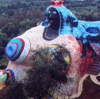 Nicci De Saint Phalle - The Tarot Garden - The Empress | Sassy J